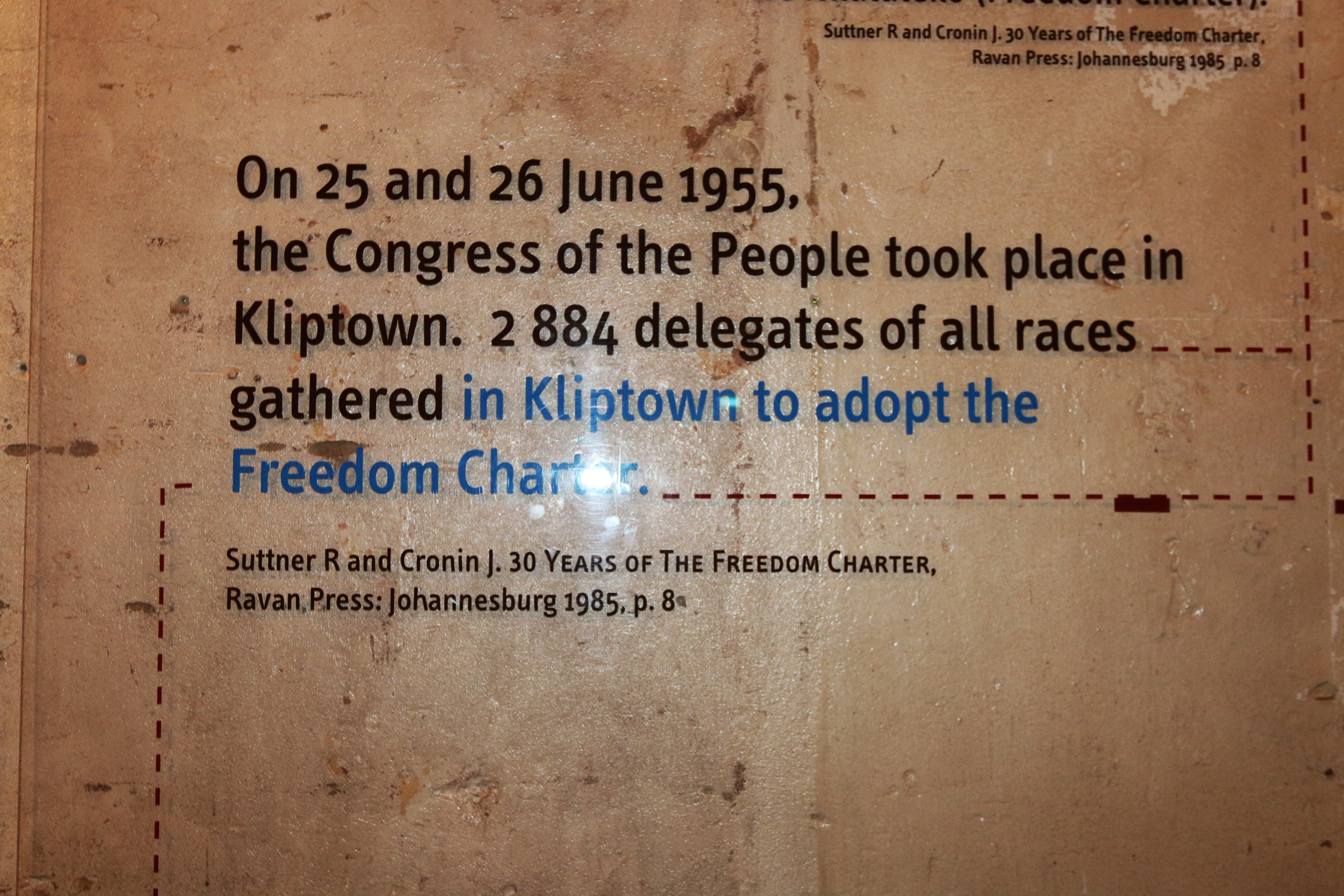Freedom Charter dates